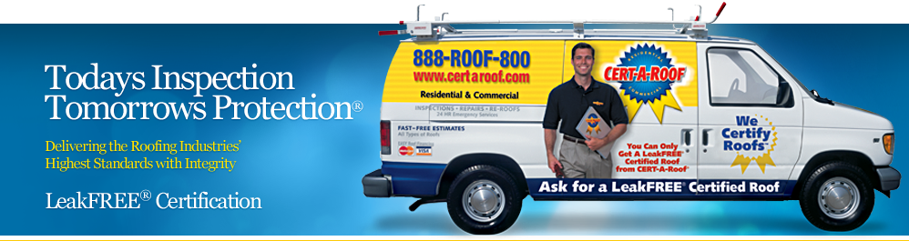 Roof Inspection, Roof Repair, And Roof Certification
