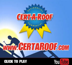 LeakFREE® Roof Inspection Services by Cert-A-Roof
